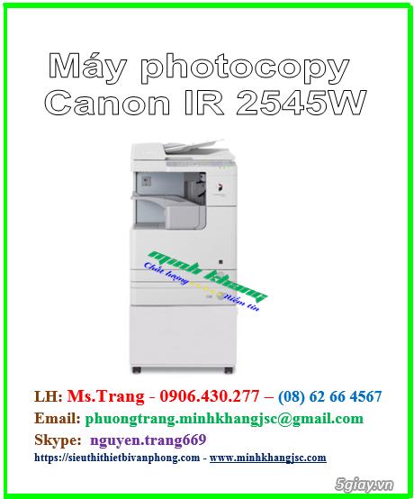 máy photocopy Canon IR 2545W giá rẻ tháng 12/2017 - 4