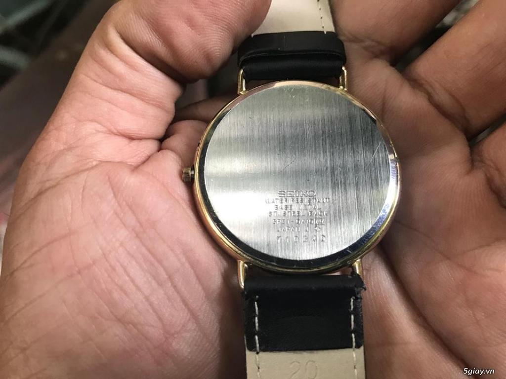 Đồng hồ mới 90% chính hãng Swatch , DW , seiko đẹp giá tốt cho anh em - 1