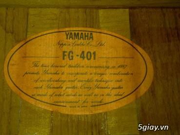 Guitar Morris W 60 và Guitar Yamaha FG 401Nhật - 16