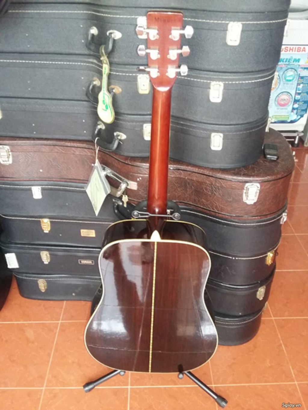 Guitar Morris W 60 và Guitar Yamaha FG 401Nhật - 11