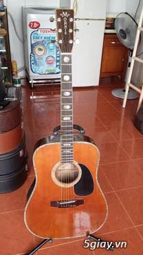 Guitar Morris W 60 và Guitar Yamaha FG 401Nhật