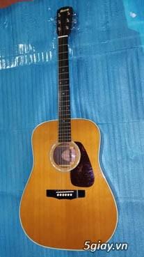Guitar Morris W 60 và Guitar Yamaha FG 401Nhật - 3