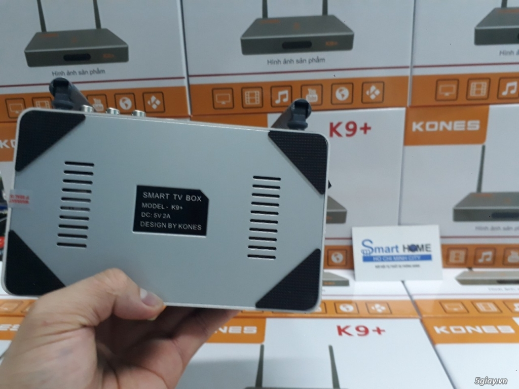 KonesBox K9+ Ram 2GB, Ram 8GB, Karaoke 4000 bài hát không cần mạng