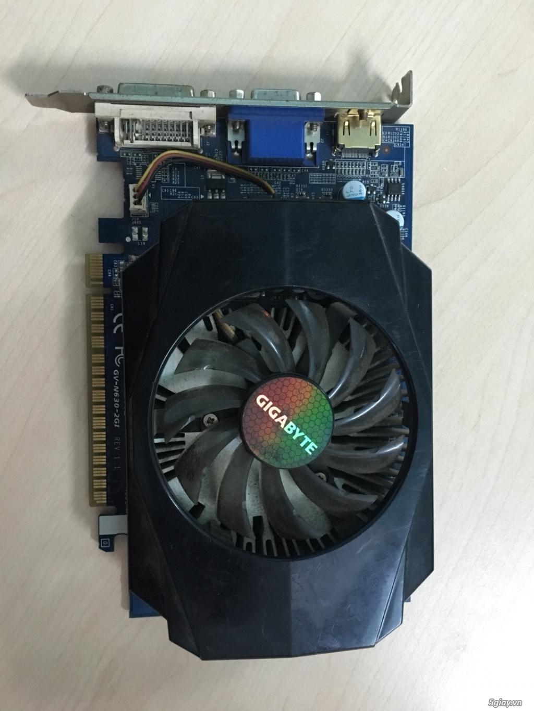 THANH LÝ CARD VGA GIGA GT630 2GB/128 BIT SLL GIÁ RẺ