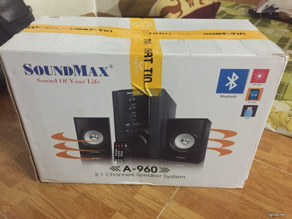 Loa Bluetooth SoundMax A960 chính hãng new 100%