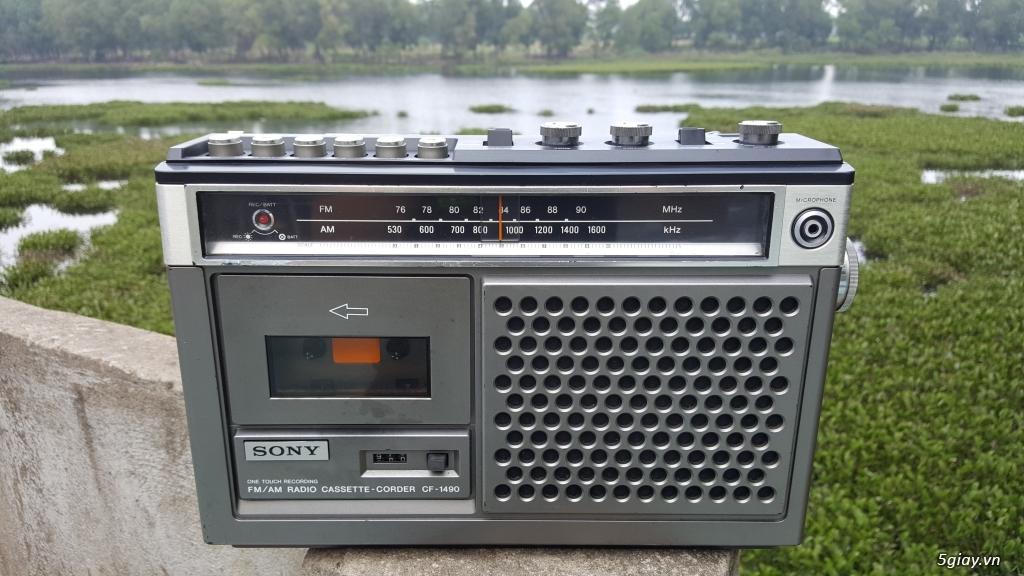 Radio Cassette Corder Sony CF-1490 - TP Hồ Chí Minh - Five vn