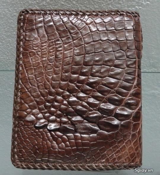 Bán bóp, dây nịt, túi xách, ví da bằng da cá sấu - 3