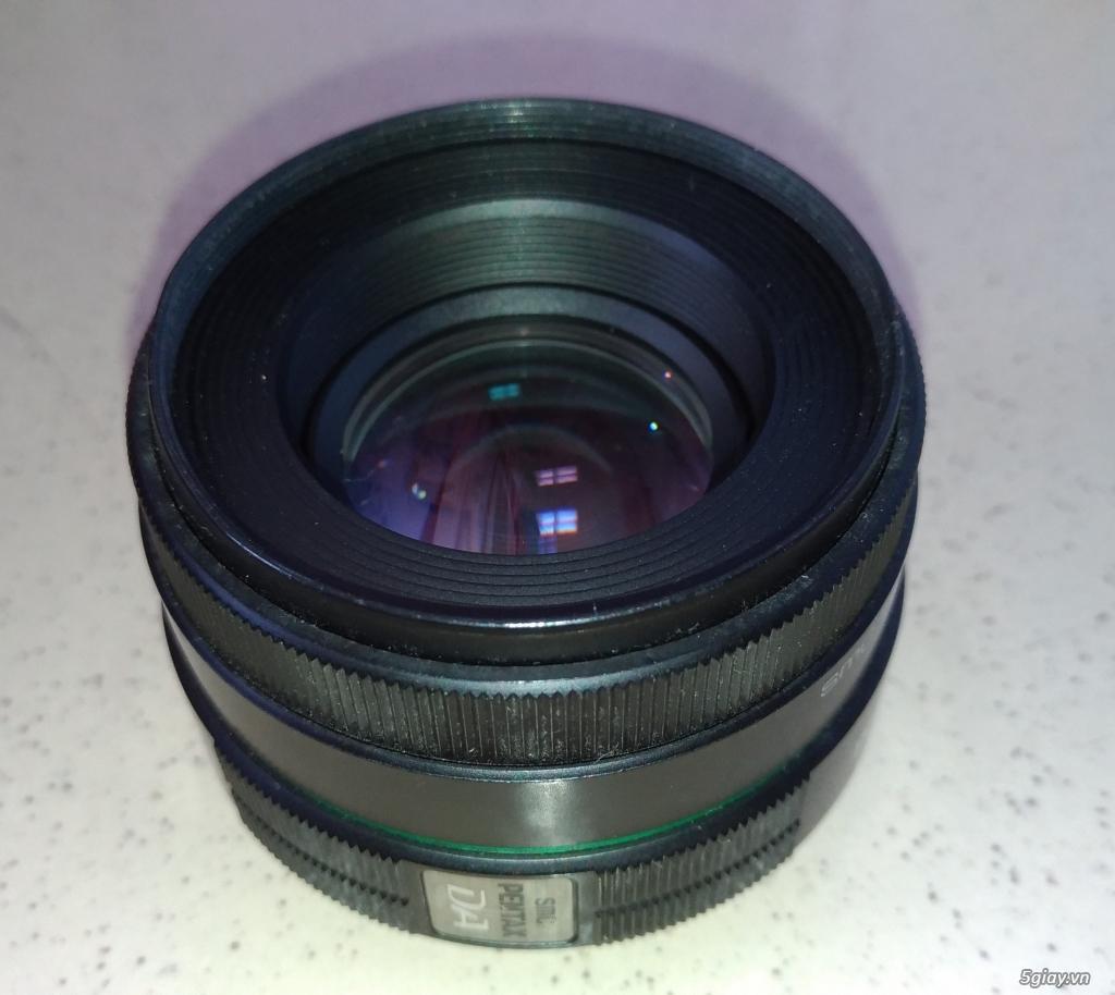 Cần bán Body Pentax K50 + DA 18-135mm  + DA 50mm F1.8 - 7