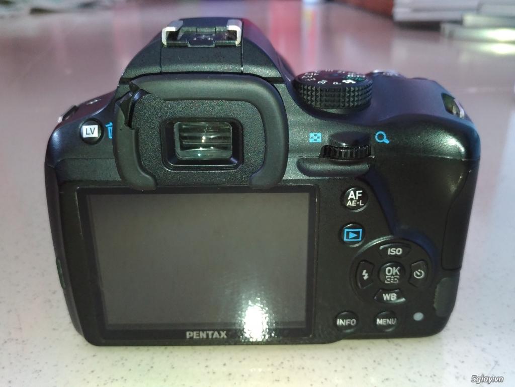 Cần bán Body Pentax K50 + DA 18-135mm  + DA 50mm F1.8 - 1