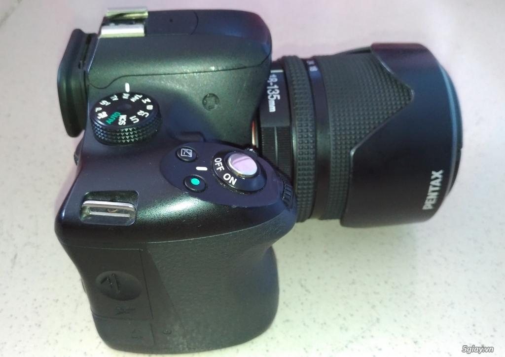 Cần bán Body Pentax K50 + DA 18-135mm  + DA 50mm F1.8
