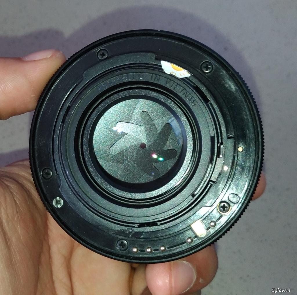 Cần bán Body Pentax K50 + DA 18-135mm  + DA 50mm F1.8 - 8