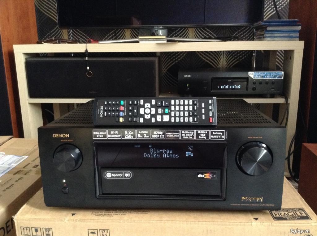 Ampli, CD, receiver, loa, subwoofer, center, surround các loại... - 1