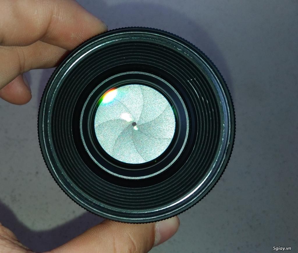 Cần bán Body Pentax K50 + DA 18-135mm  + DA 50mm F1.8 - 9