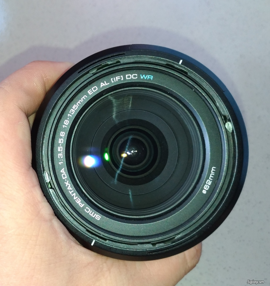 Cần bán Body Pentax K50 + DA 18-135mm  + DA 50mm F1.8 - 6