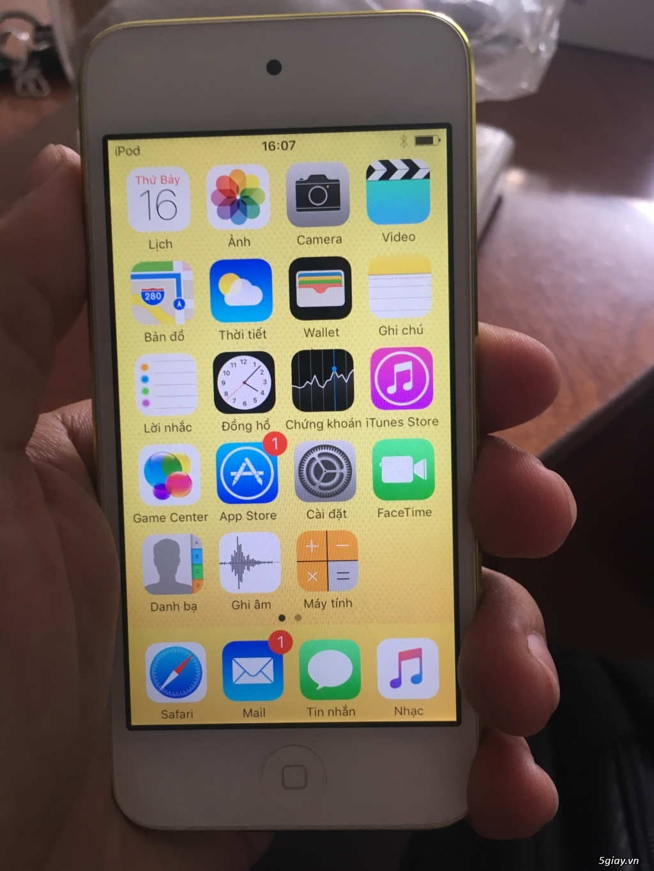 ipod touch gen 5 máy đẹp - 3