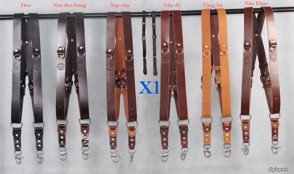 Chuyên sản xuất và phân phối sỉ dây đeo, Túi da bò cho máy ảnh . - www.TAICHINH2A.COM
