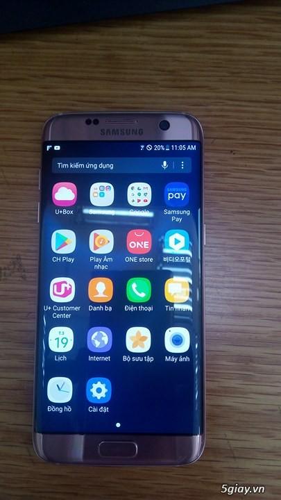 SAMSUNG GALAXY S7 EDGE ROSE NEW 99% - 12