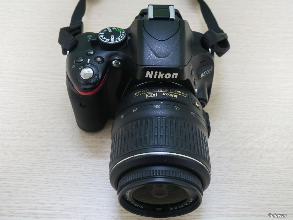 Bán Nikon D5100 kèm kit 18-55 VR