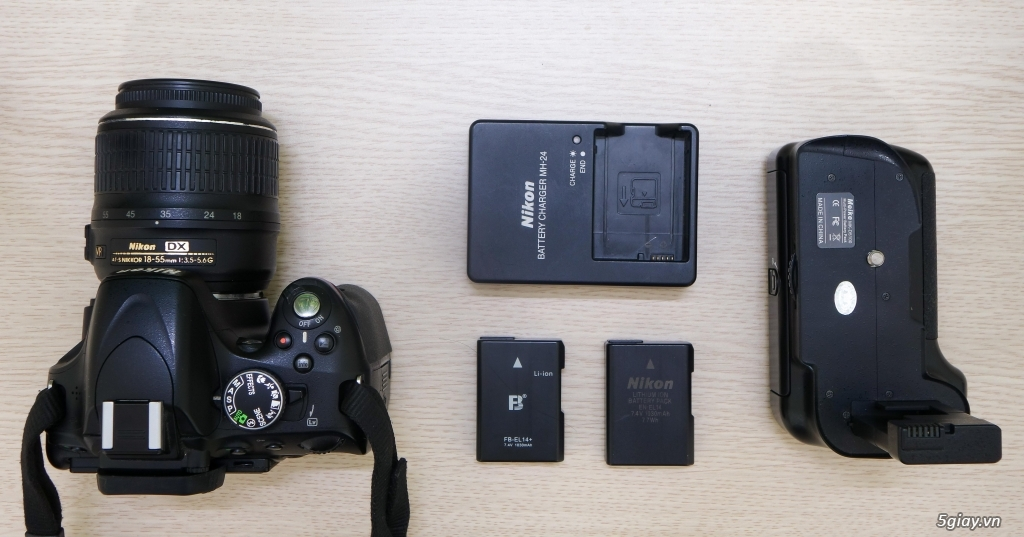 Bán Nikon D5100 kèm kit 18-55 VR - 2