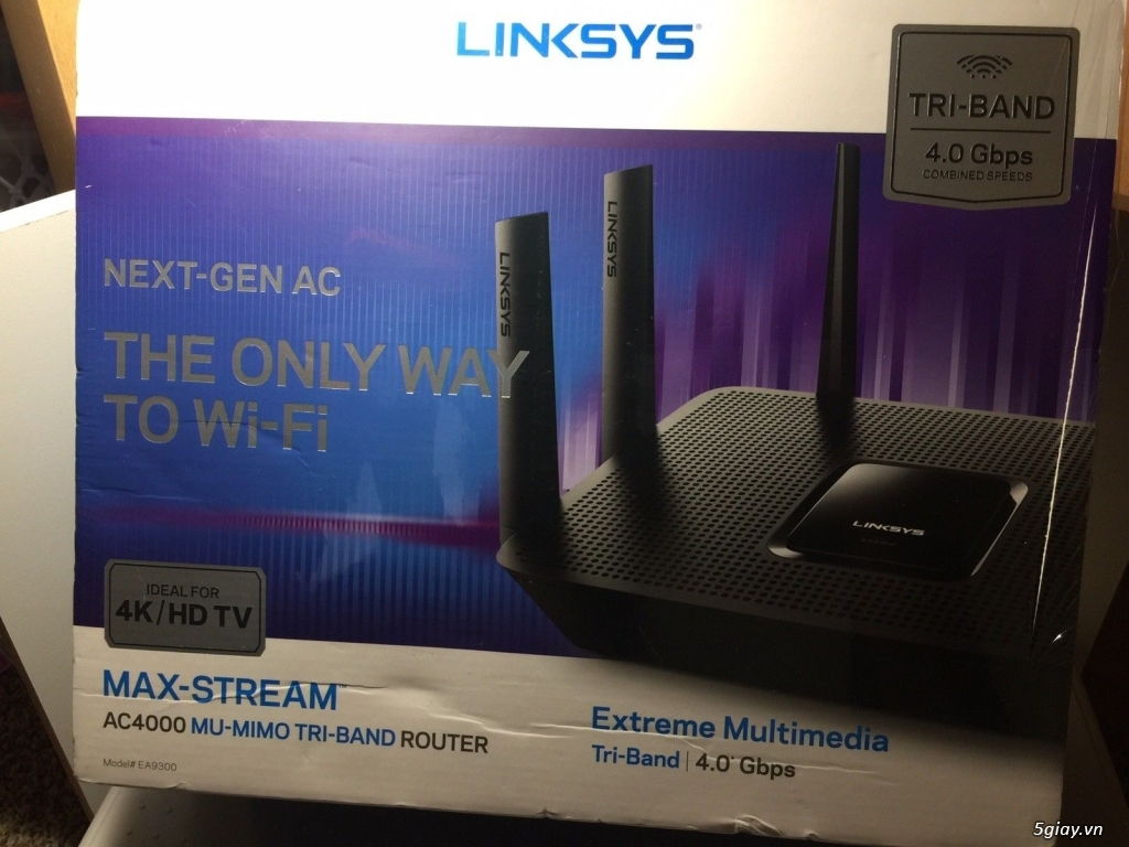 Router wifi cao cấp Linksys