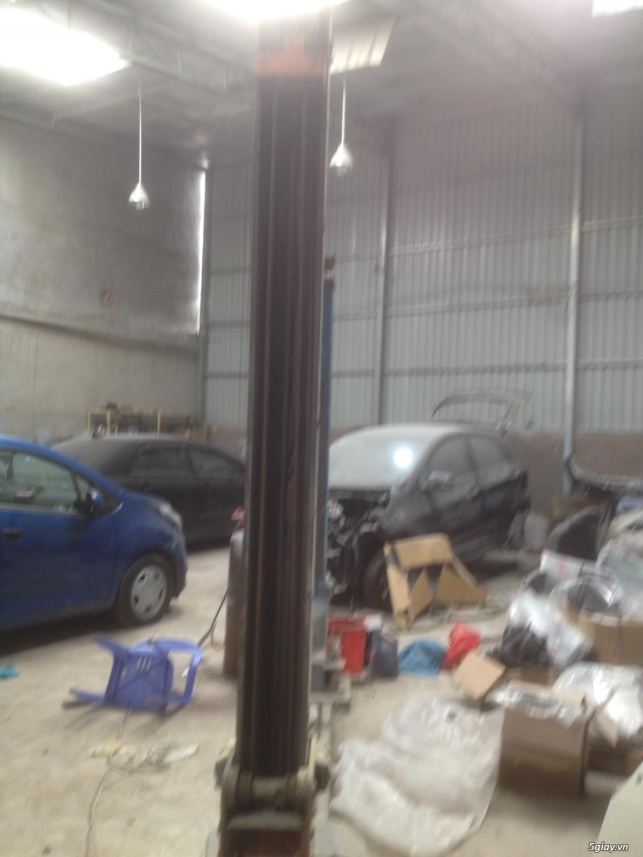 cần bán cầu nâng cũ 2 trụ thiết bi rửa xe - 13