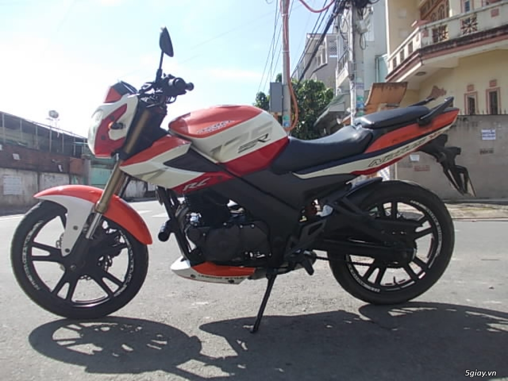 Moto Rebel Notus 2 máy 125cc pô hú - 3