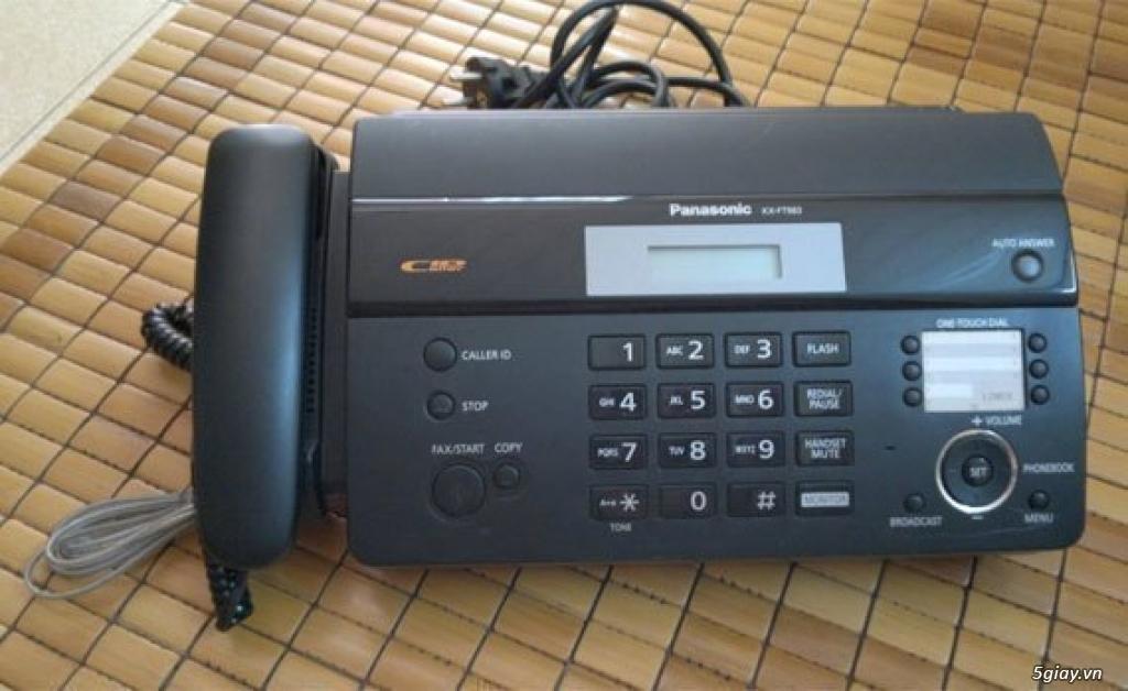 máy fax panasonic 983 còn moi còn thùng giá tốt