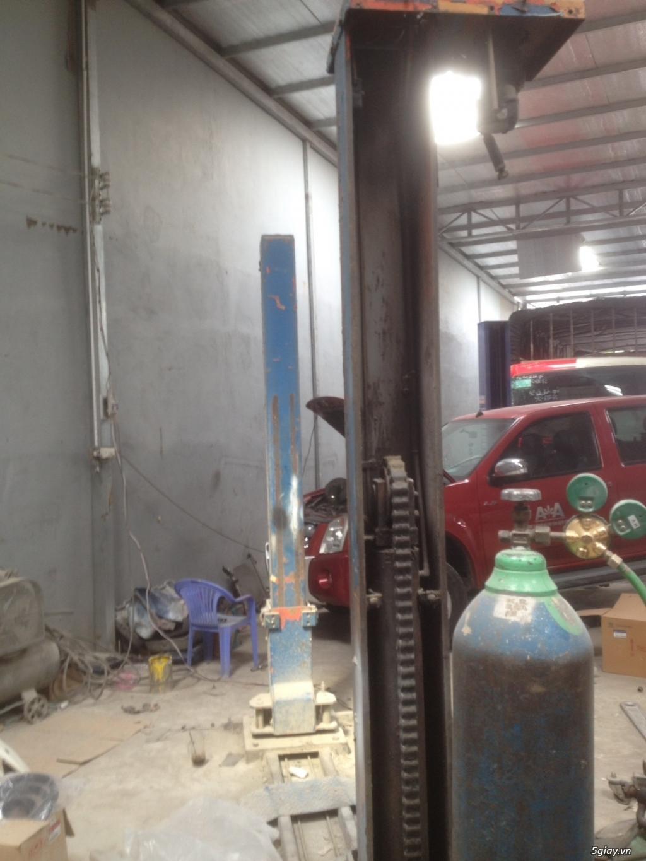 cần bán cầu nâng cũ 2 trụ thiết bi rửa xe - 12
