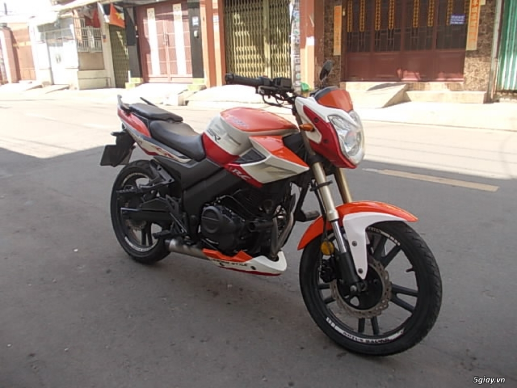 Moto Rebel Notus 2 máy 125cc pô hú - 1