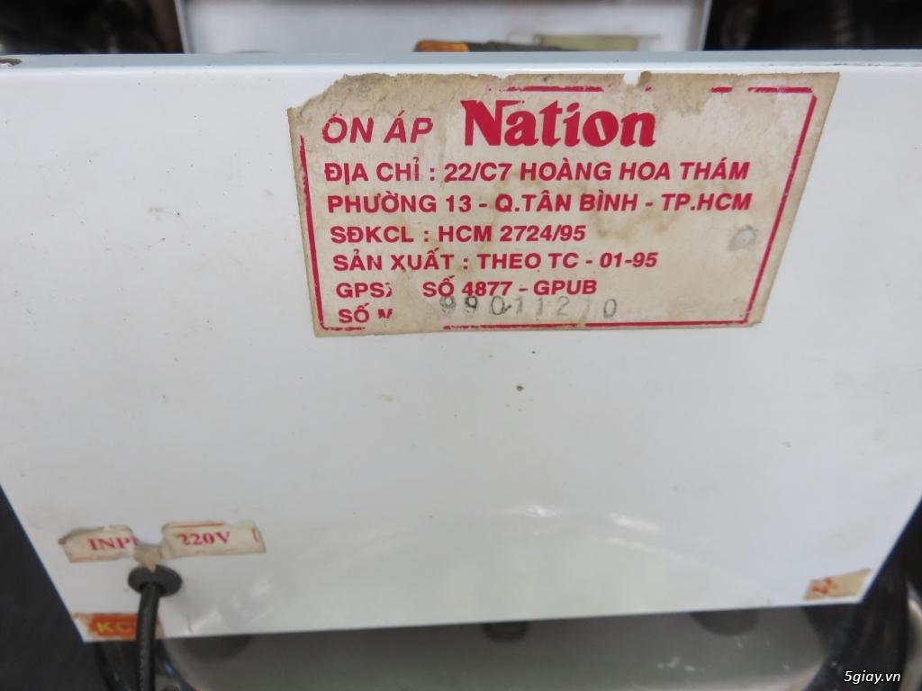 ổn áp NATION N2000 nguyên jn 600w Quạt trần Panasonic F60MZ2 - 2