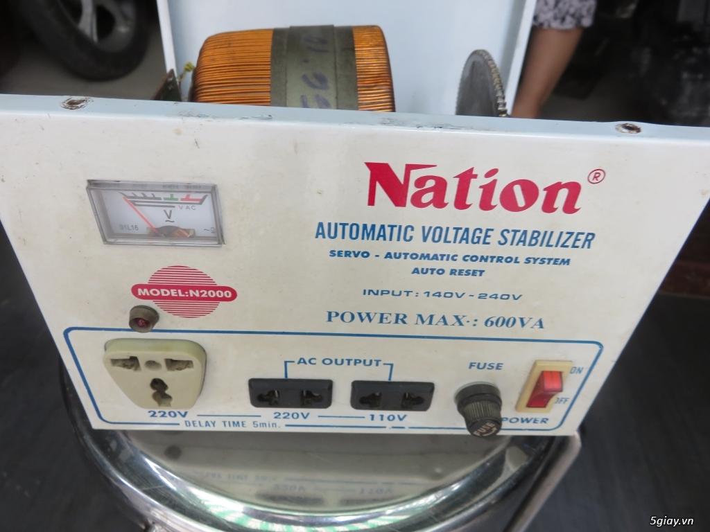ổn áp NATION N2000 nguyên jn 600w Quạt trần Panasonic F60MZ2