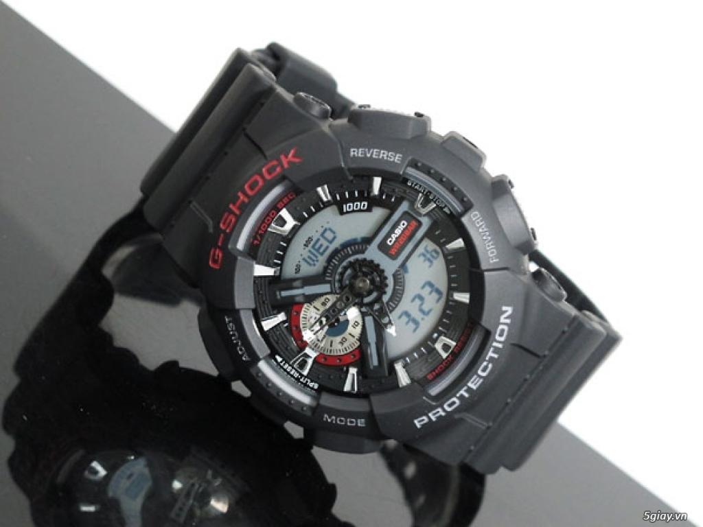 Casio G-Shock: GA-110-1ADR chính hãng - 1