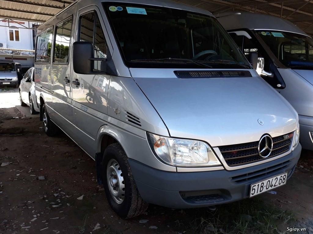 Bán xe Mercedes-Benz Sprinter đăng kí tháng 2,2009, một đời chủ