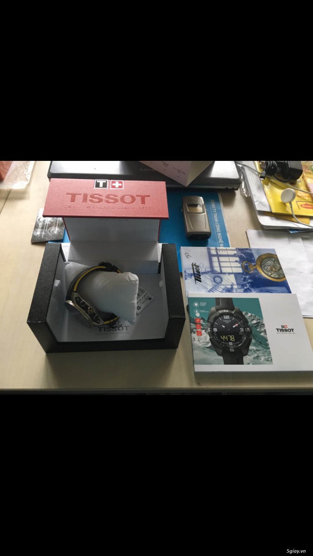 Đồng hồ thể thao Tissot PRS 516 automatic