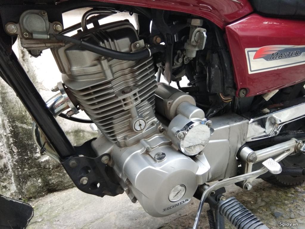 Cần bán chiếc Honda Master 125 lên dáng tracker nhẹ - 4