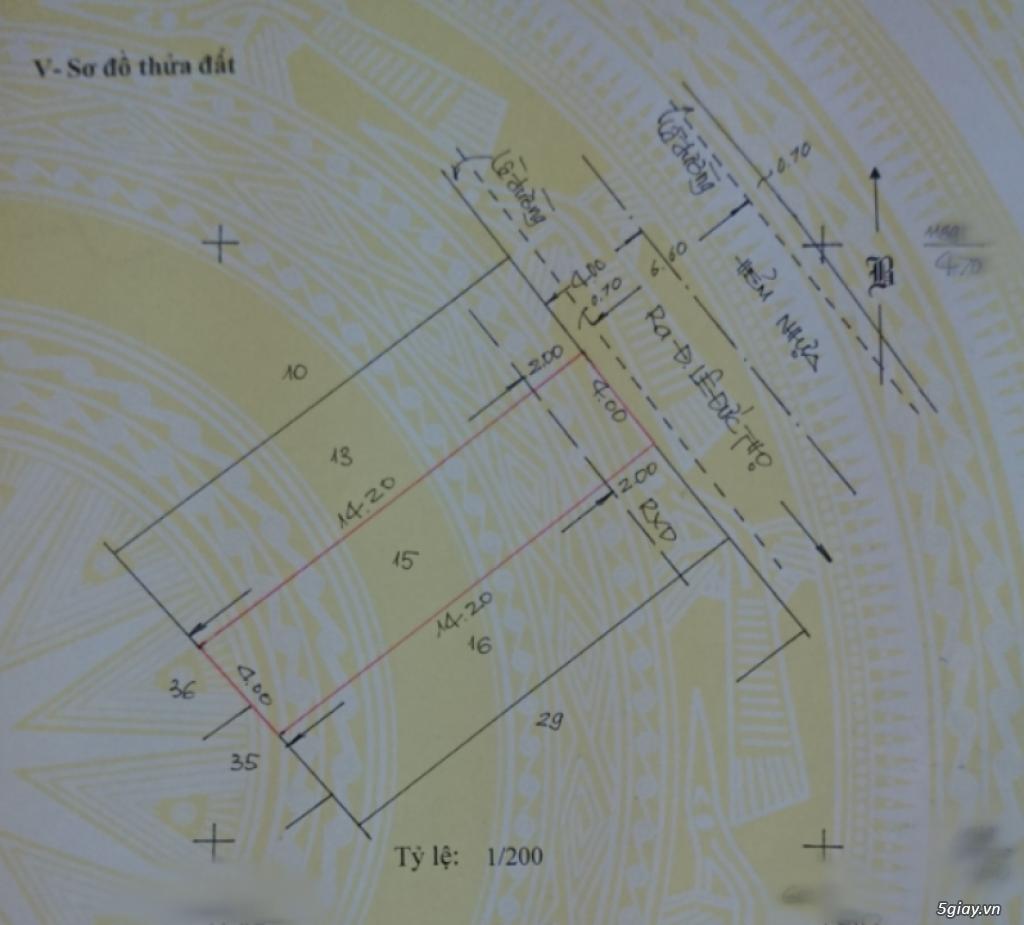 Cho thuê đất nhỏ 64m2 thuận tiện làm kho bãi quận Gò Vấp - 1