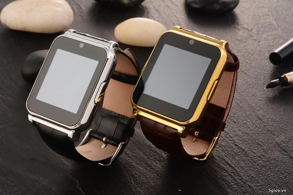 đồng hồ thông minh w90 dây da cực đẹp giá chỉ 289.000 đ - 1