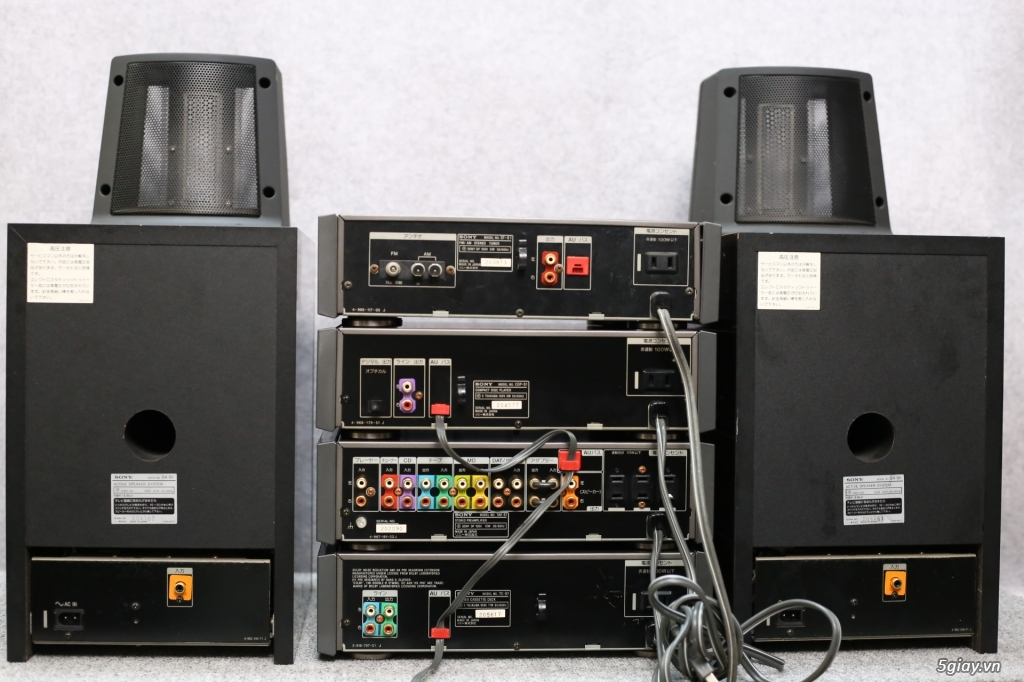 Đầu máy nghe nhạc MINI Nhật đủ các hiệu: Denon, Onkyo, Pioneer, Sony, Sansui, Kenwood - 39