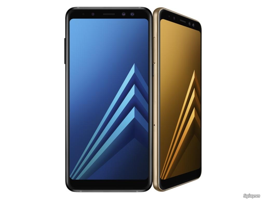 Ra mắt Galaxy A8 và A8+ với camera Selfie kép và màn hình tràn viền - 217278