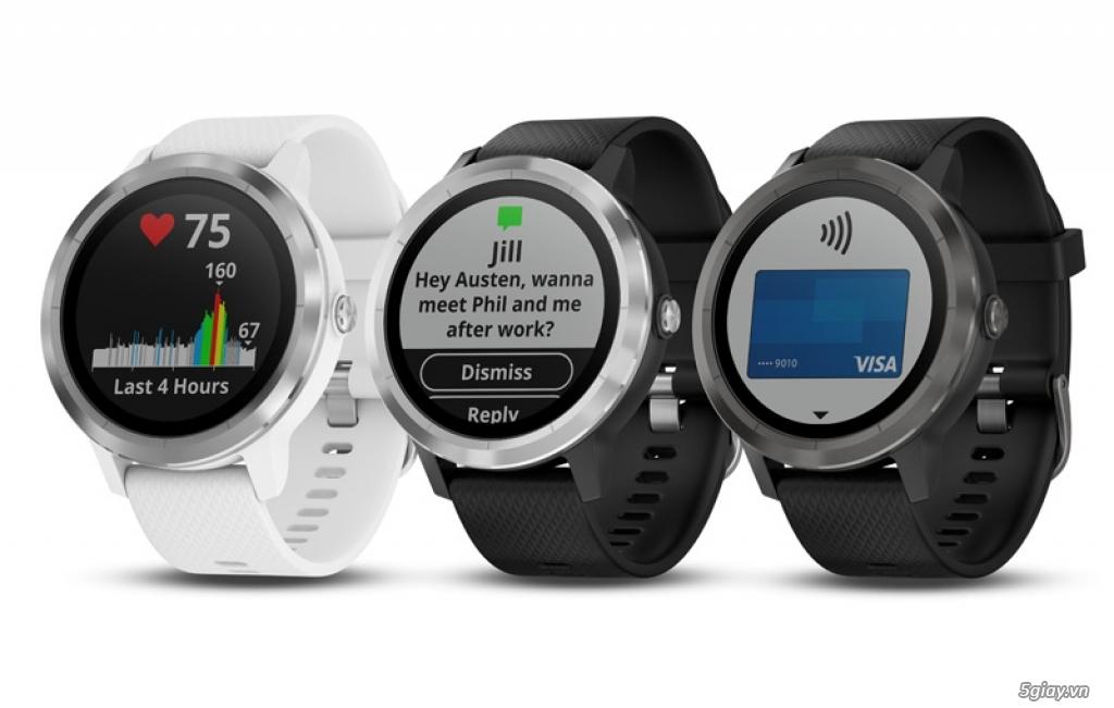 Garmin ra mắt hai dòng đồng hồ thông minh với nhiều tính năng ưu việt - 217301