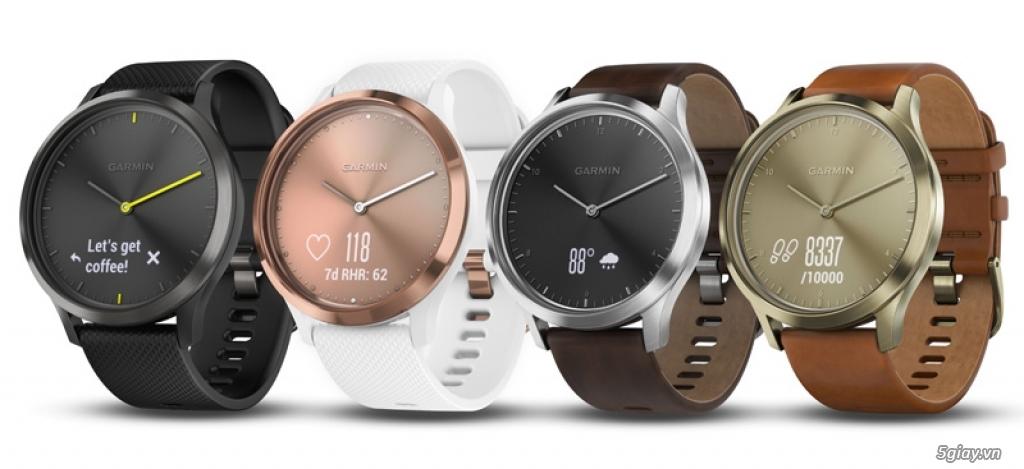 Garmin ra mắt hai dòng đồng hồ thông minh với nhiều tính năng ưu việt - 217300