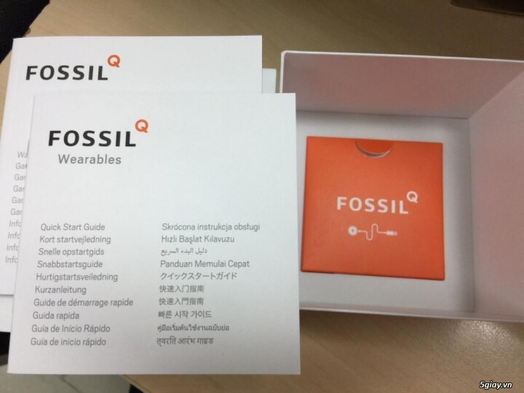 Smart watch fossil - bán nhanh để cắt lỗ