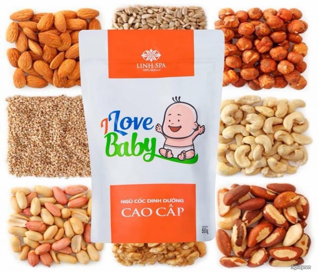 Ngũ cốc dinh dưỡng I Love Baby của Linh Spa