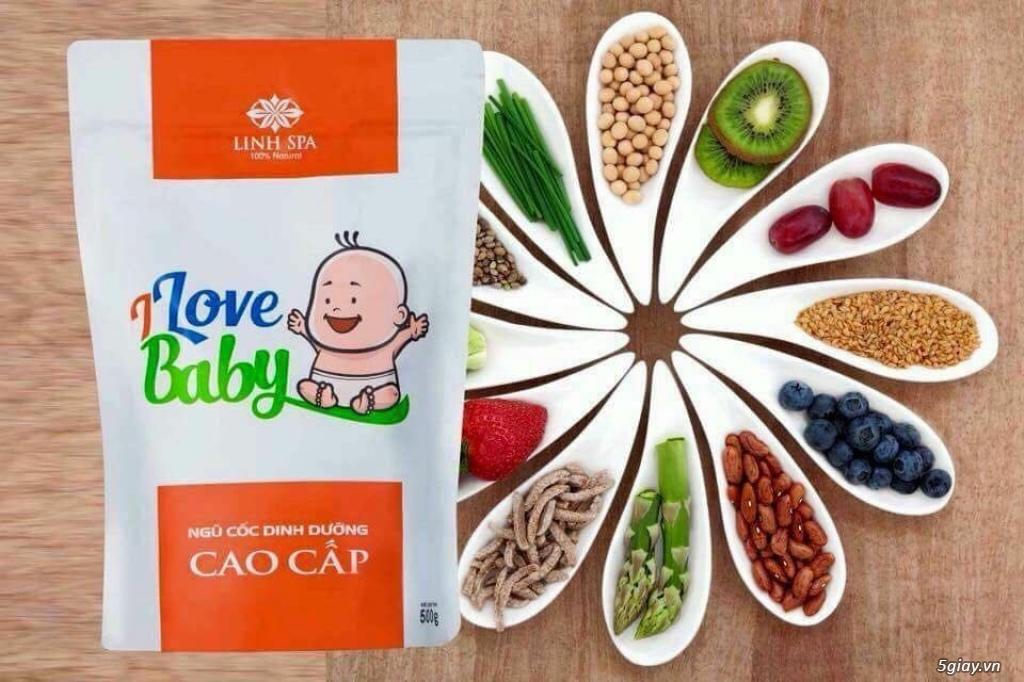 Ngũ cốc dinh dưỡng I Love Baby của Linh Spa - 2