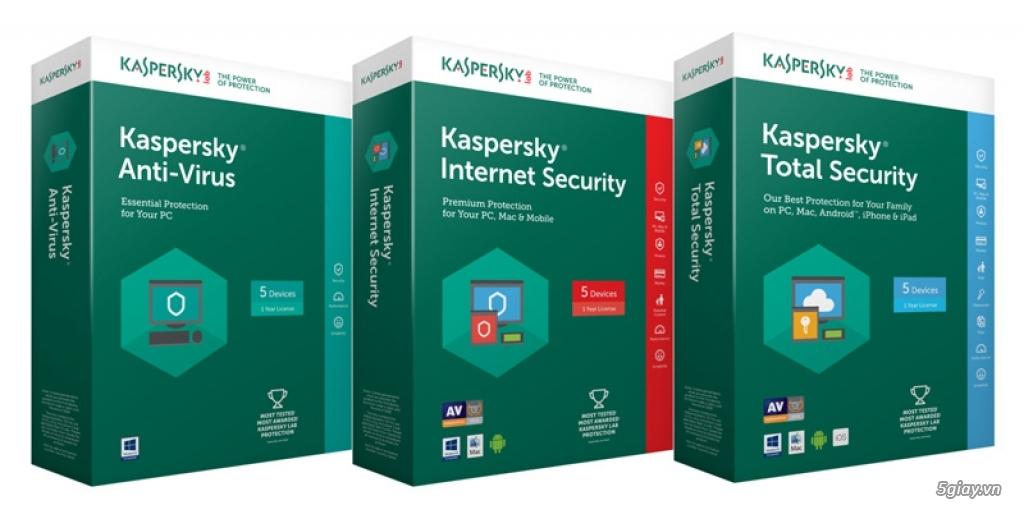 Giới thiệu các giải pháp bảo mật Kaspersky 2018 tại Việt Nam - 217537