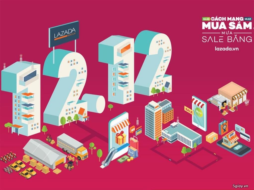 """Lazada đạt tổng giao dịch 250 triệu USD trong """"Mưa Sale băng"""" 12.12 - 217539"""