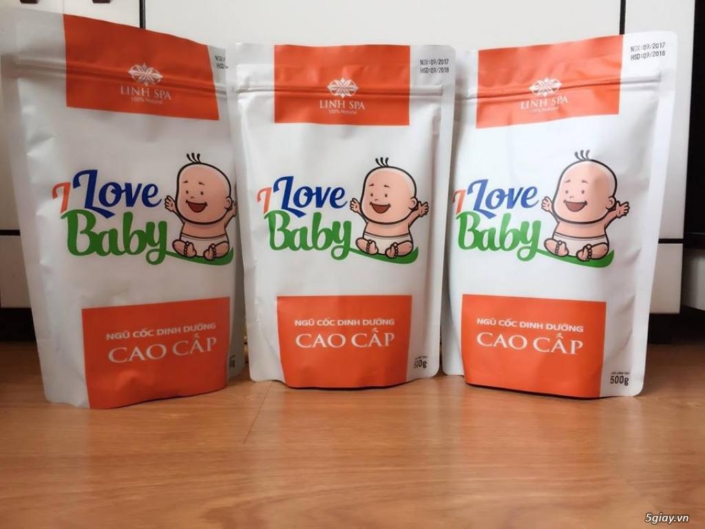 Ngũ cốc dinh dưỡng I Love Baby của Linh Spa - 1
