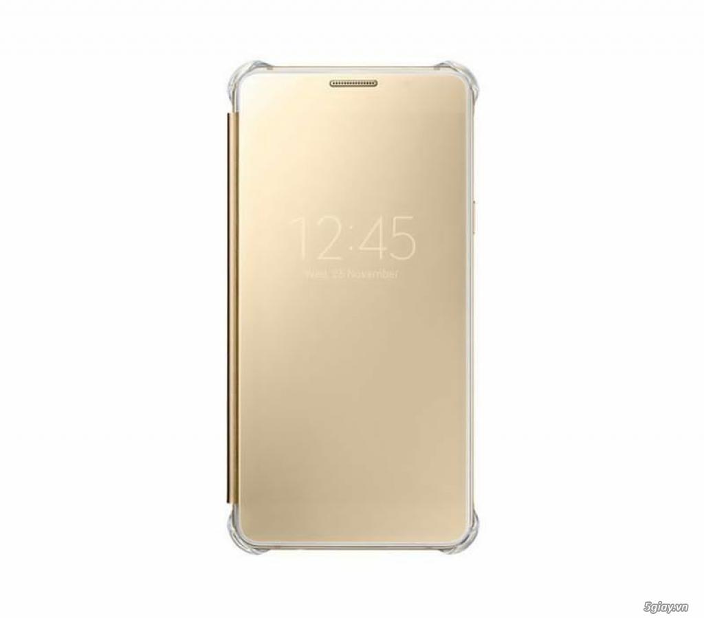 Bao da Clear view, S view  Samsung a7 2016, S6 S7 edge chính hãng ssvn