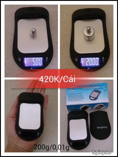 Cân điện tử tiểu ly,bỏ túi,mini tổng hợp từ 100g/0,01g->500g/0,01g - 11