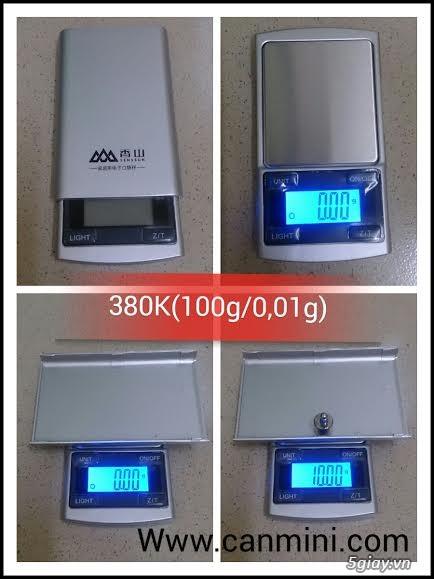 Cân điện tử tiểu ly,bỏ túi,mini tổng hợp từ 100g/0,01g->500g/0,01g - 15
